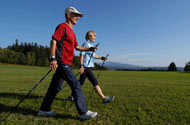 Nordic Walking am Nationalpark Bayerischer Wald